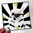 Impresiones 3D wall clock Star Wars , 3dlito