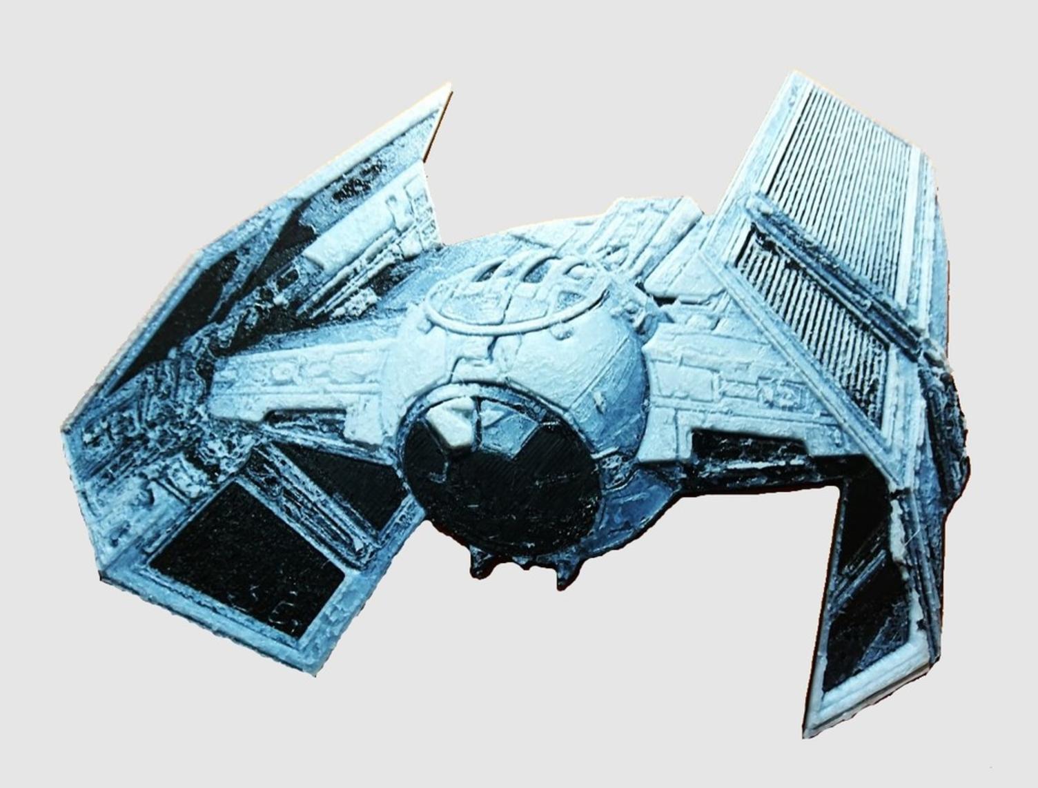 Capture d'écran 2017-07-26 à 10.06.35.png Download free STL file Star Wars Combat Ship 3D Drawing • 3D print model, 3dlito