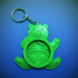 Download free 3D printing templates Customizable teddy bear keychain tutorial, 3dlito