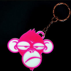 Télécharger fichier imprimante 3D gratuit singe blanchisseur, 3dlito