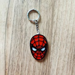 IMG_20201213_144438.jpg Download free STL file SPIDER-MAN KEYCHAIN • 3D print model, 3dlito