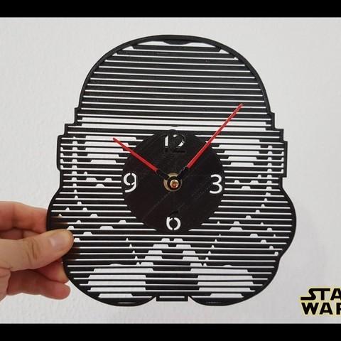 Free STL files Reloj Star Wars, 3dlito