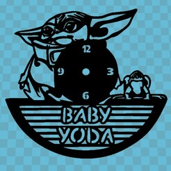 baby yodaa.jpg Télécharger fichier STL BABY YODA WATCH V1 • Plan pour imprimante 3D, 3dlito