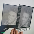 Download free STL file HALFTONE Elvis Presley • 3D printing template, 3dlito