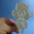 Free STL file Arali lithophane, 3dlito
