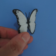 Download free STL file Butterfly Pendant • 3D printing design, 3dlito
