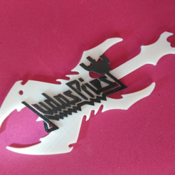 Download free 3D printing models Judas Priest Keychain, 3dlito