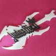 Download free 3D printing models Judas Priest Keychain, 3dlito