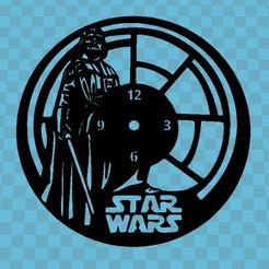 Download free STL file STAR WARS WATCH • 3D print template, 3dlito