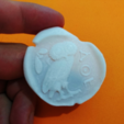 Free 3d printer model Coin athena, 3dlito