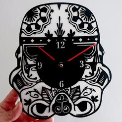 Impresiones 3D Reloj Stormtrooper STAR WARS, 3dlito
