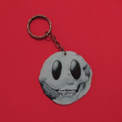 Free 3D printer designs EMOTICONO ZOMBIE KEYCHAIN, 3dlito