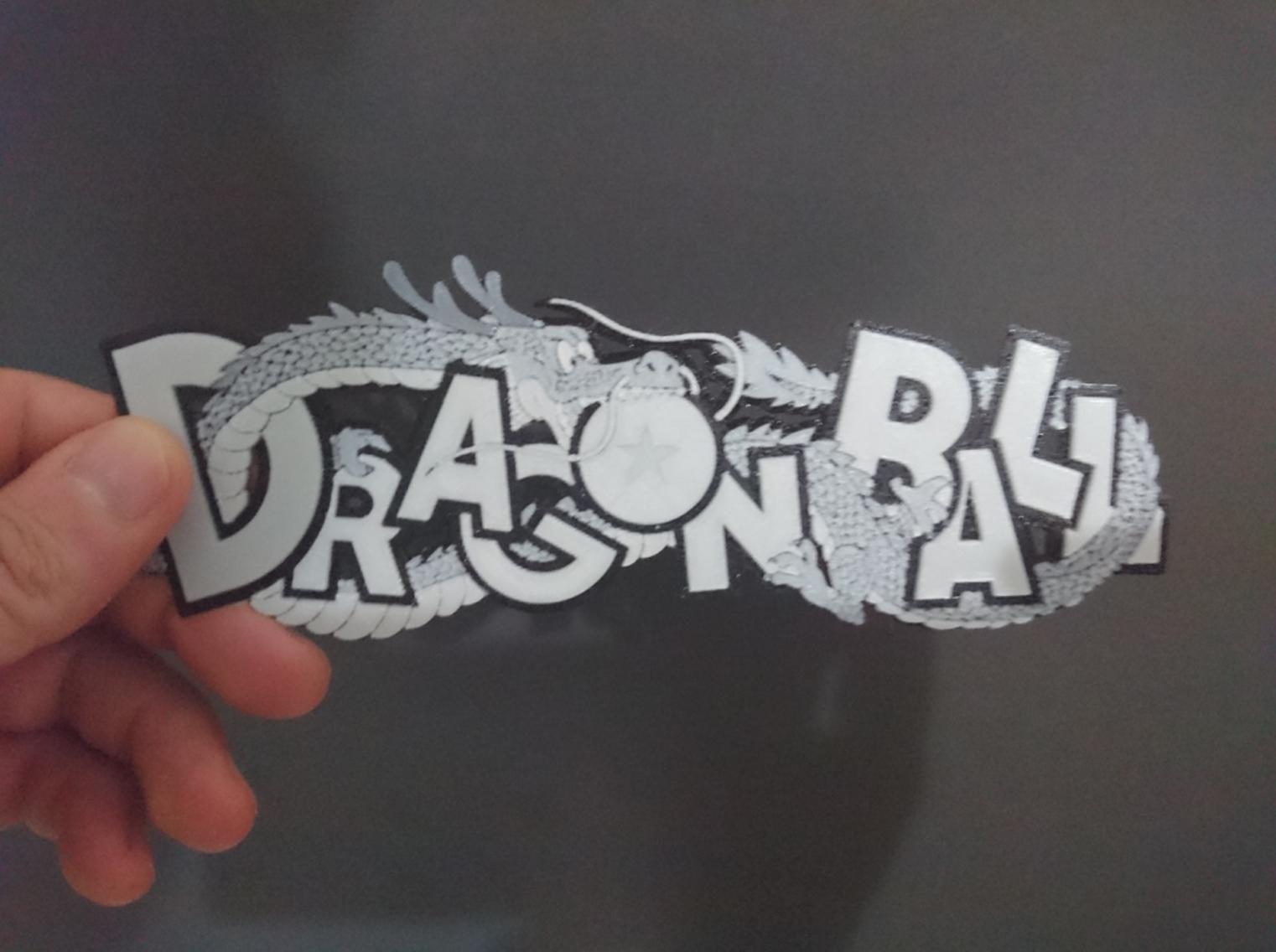 Capture d'écran 2017-07-18 à 14.36.52.png Download free STL file Dragon Ball 3D Logo • 3D printable object, 3dlito