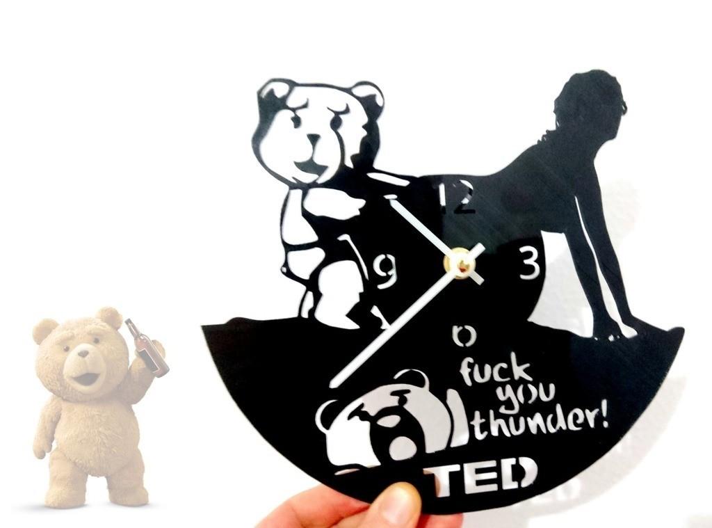2c8019dd923cfe4fa3b57148d04b5c42_display_large.jpg Télécharger fichier STL gratuit Reloj Ted • Plan pour imprimante 3D, 3dlito