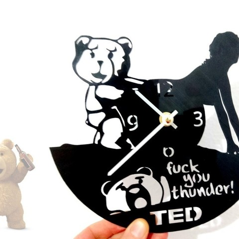 Download free 3D printing designs Reloj Ted, 3dlito