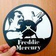 Download free 3D model Reloj Queen Freddie Mercury, 3dlito