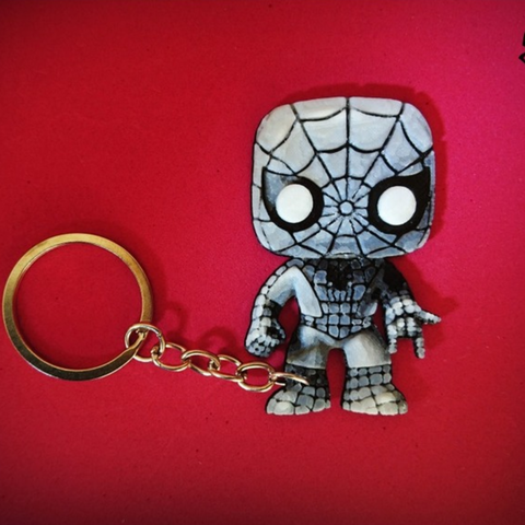 Download free STL file Spiderman Keychain • 3D print object, 3dlito