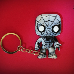 Free 3d printer designs Spiderman Keychain, 3dlito