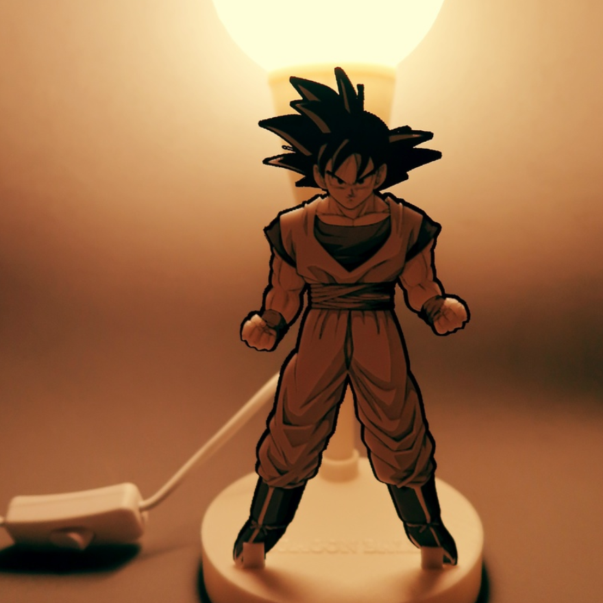 Capture d'écran 2017-12-26 à 12.43.12.png Download free STL file DRAGON BALL lamp • 3D printer object, 3dlito