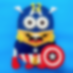 Minion_RELOJ3D.stl Download free STL file Minions 3D Clock • 3D printable design, 3dlito
