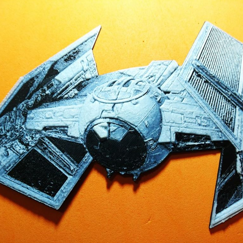 Free 3D printer files Star Wars Combat Ship 3D Drawing, 3dlito