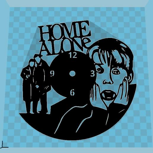 Download free 3D printing files Reloj Solo en casa, 3dlito