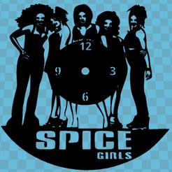 Impresiones 3D RELOJ Spice Girls, 3dlito
