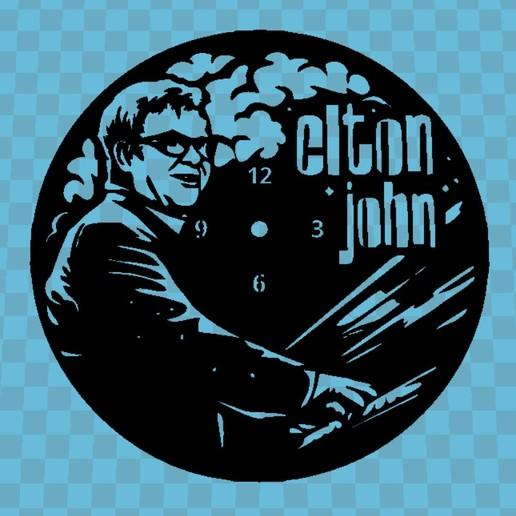 Download free 3D printing models ELTON JOHN WATCH, 3dlito