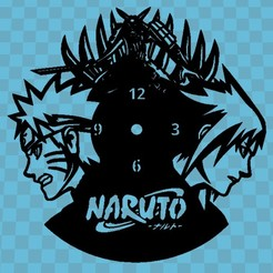 NARUTO.jpg Download free STL file NARUTO WATCH • 3D print model, 3dlito