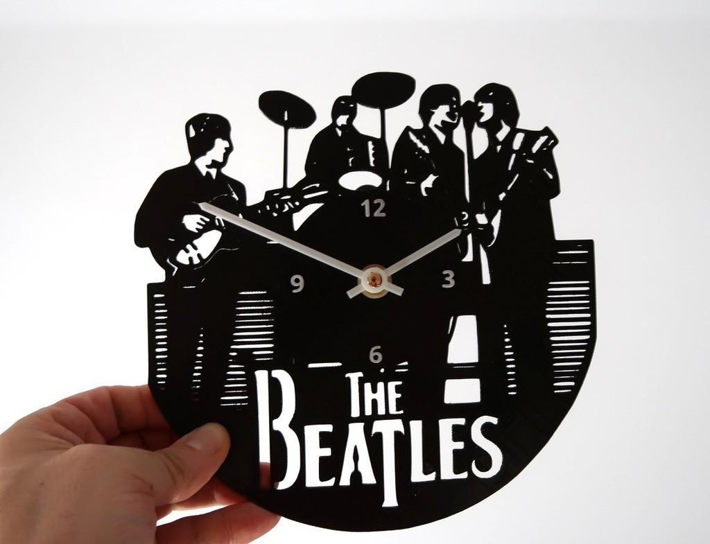 4a910a17accc02f5337e5a0d7c762d8a_display_large.jpg Download free STL file Reloj The Beatles • 3D print design, 3dlito