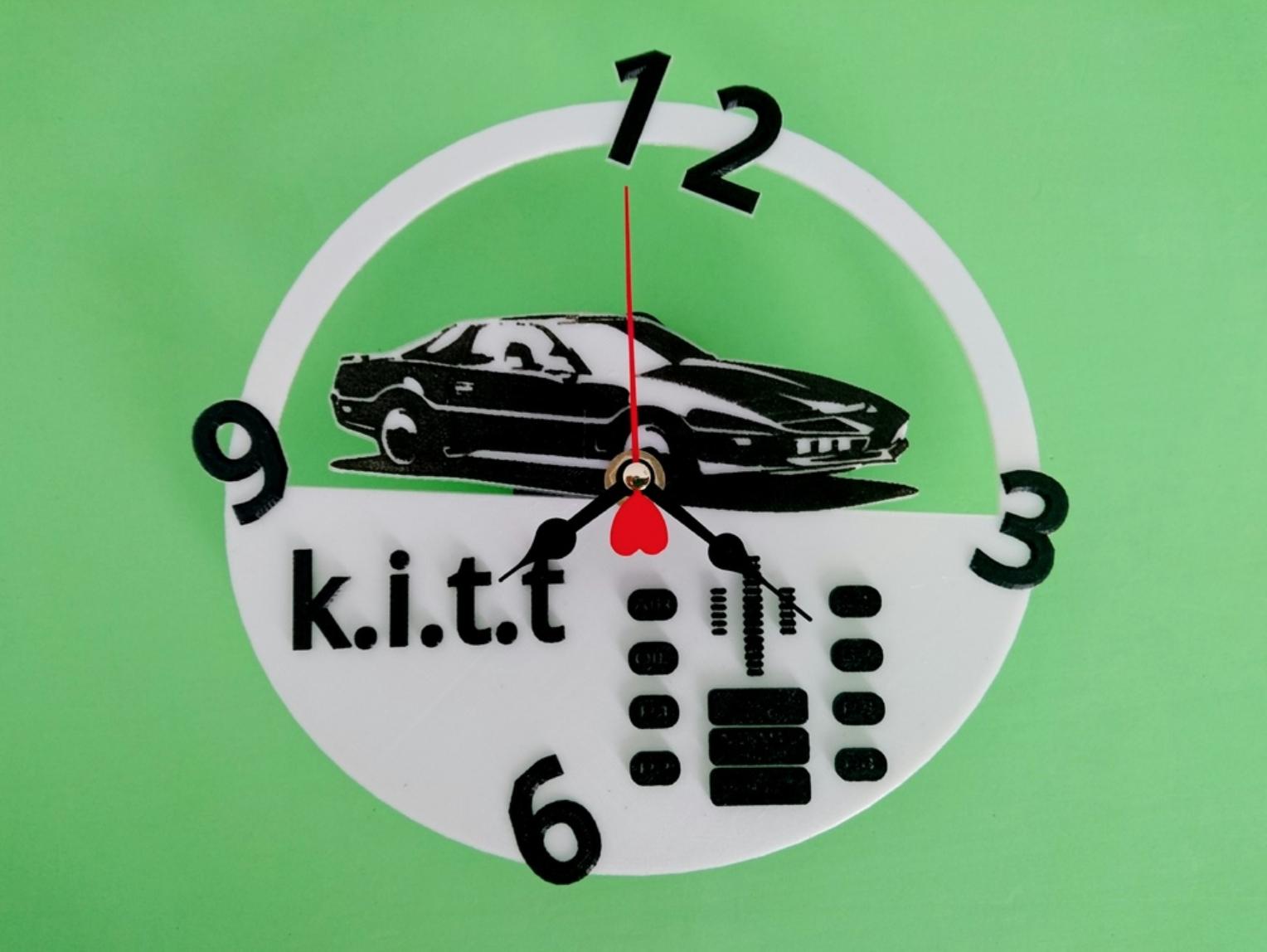 Capture d'écran 2017-10-19 à 14.11.26.png Download free STL file Kitt watch • Object to 3D print, 3dlito