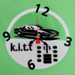 Free stl files Kitt watch, 3dlito