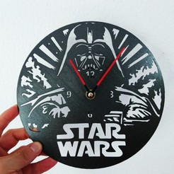 Download free STL file Reloj Star Wars Darth Vader • 3D printer object, 3dlito