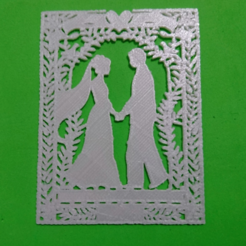 Download free 3D printer templates bb silhouette stencil in love, 3dlito