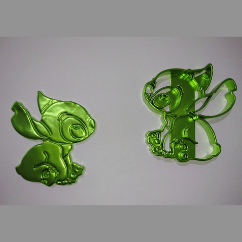 Sin Título(298).png Download STL file Clock Lilo & Stitch + Stitch cookie cutter • 3D print model, 3dlito