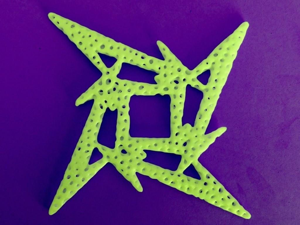 dadfe63ae97beec54a531829dc1fa227_display_large.jpg Télécharger fichier STL gratuit Voronoi MetallicA logo • Plan pour imprimante 3D, 3dlito