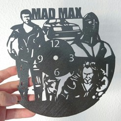 Free 3d printer files Reloj Mad Max, 3dlito