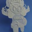 Télécharger fichier imprimante 3D gratuit arale lithophane, 3dlito