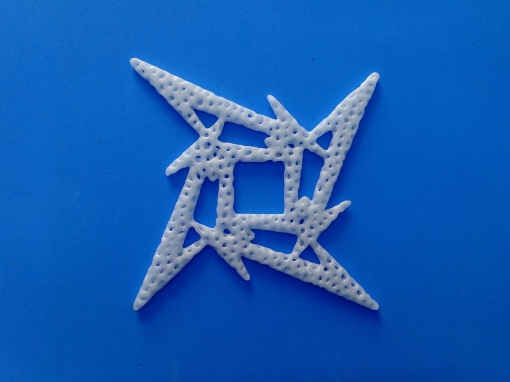 2b20d3a11640d059eb82e9850b7ced16_display_large.jpg Télécharger fichier STL gratuit Voronoi MetallicA logo • Plan pour imprimante 3D, 3dlito