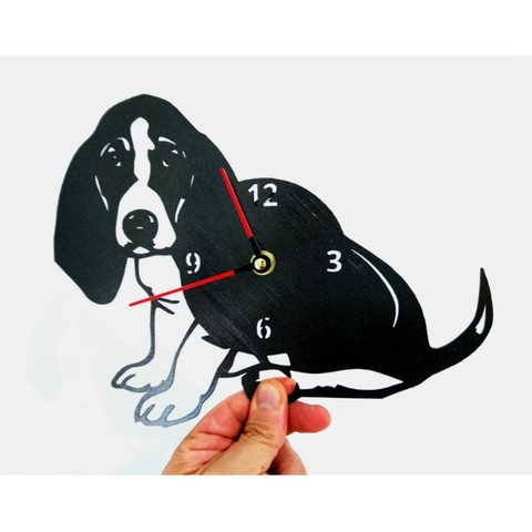 Download free 3D printing templates Reloj Perro, 3dlito