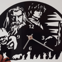 Download free STL file Reloj El Hobbit, 3dlito