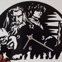 Descargar archivo 3D gratis Reloj El Hobbit, 3dlito