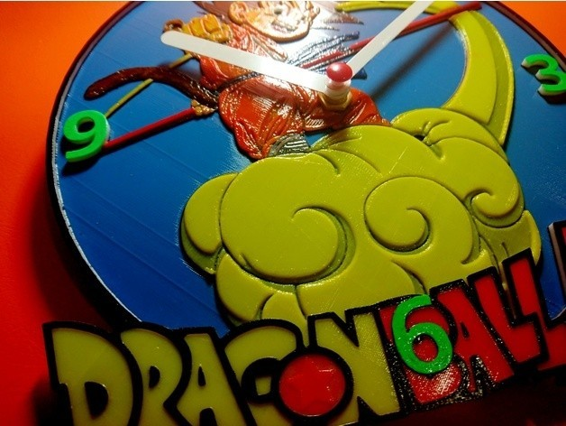 f05fc971ebd5887ccdad4105870faa8c_preview_featured.jpg Download free STL file Reloj Dragon Ball Z • 3D printer object, 3dlito