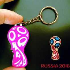 Download free 3D printer files 2018 Russia Cup, 3dlito