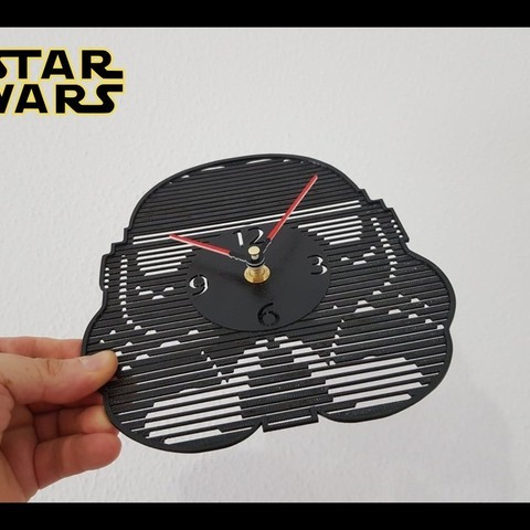 1aa226042ee242e004055d61ae70c91b_display_large.jpg Download free STL file Reloj Star Wars • 3D print object, 3dlito