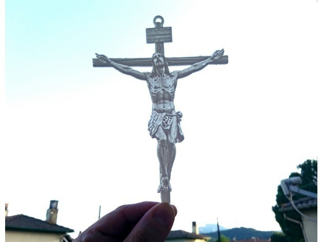 86c9ce78f6aaef814bb821ab4c63b2a1_preview_featured.jpg Download free STL file Litophany Jesus Christ • Object to 3D print, 3dlito