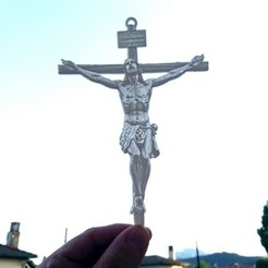 Download free STL files Litophany Jesus Christ, 3dlito