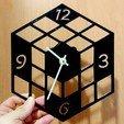 Télécharger fichier impression 3D gratuit Reloj cubo RUBIK RUBIK, 3dlito