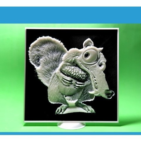 Free 3d printer files Scrat 3D, 3dlito