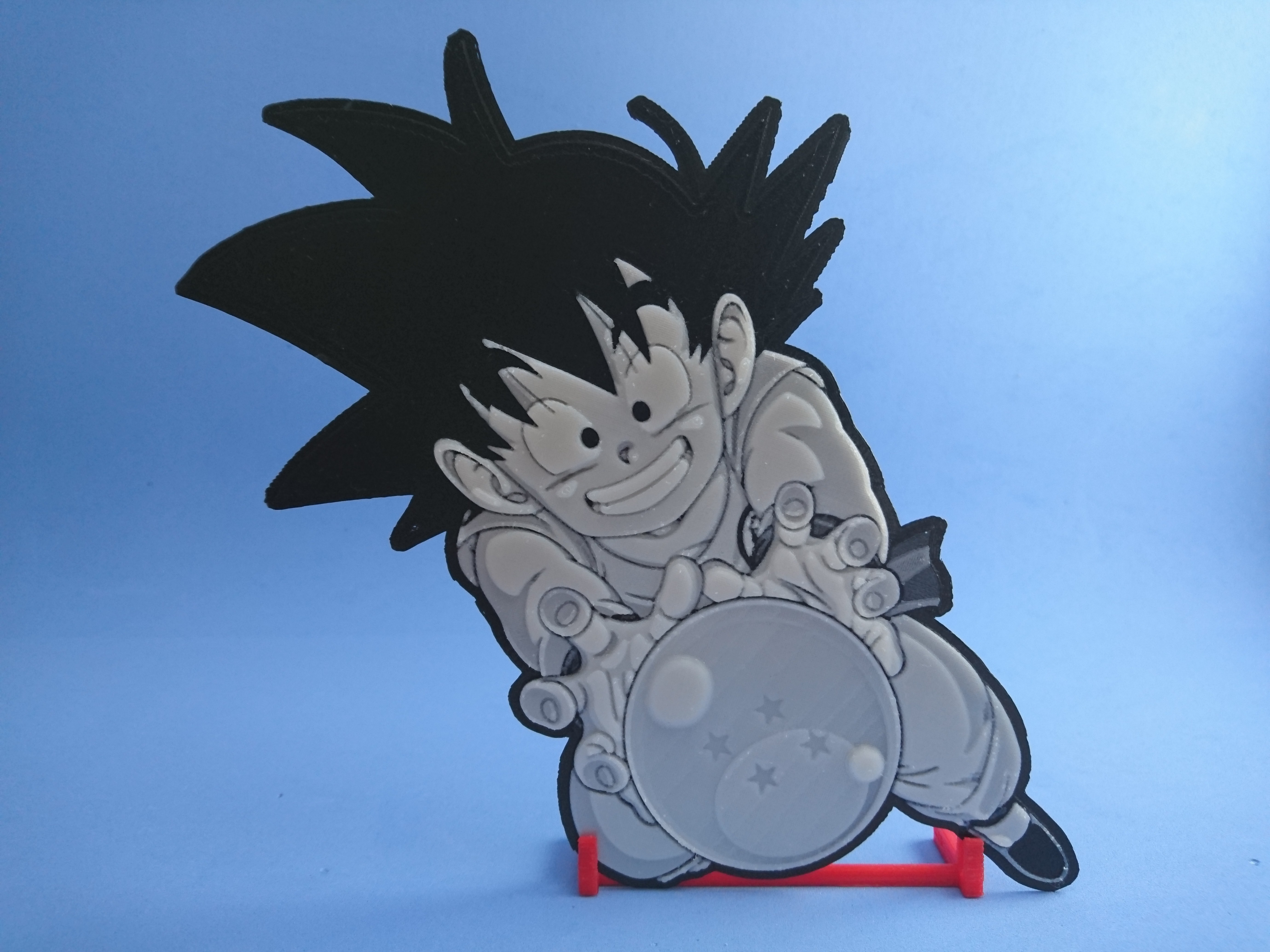 DSC_0277.JPG Download free STL file 3D Drawing Son Goku (DRAGON BALL) • 3D printing template, 3dlito